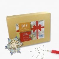 Weihnachtsbox Diamond Dotz Bastelset - Kleines Starterset