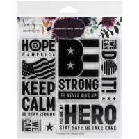 Colorado Craft Company Clear Stamps 6X6