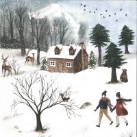 Craft & You Winter Holiday Scrapbooking Paper Motiv 05