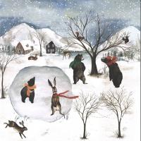 Craft & You Winter Holiday Scrapbooking Paper Motiv 06