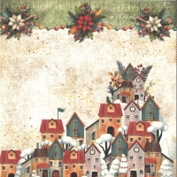 Craft & You Colors of Christmas Scrapbooking Paper Motiv 05