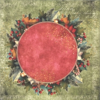 Craft & You Colors of Christmas Scrapbooking Paper Motiv 06
