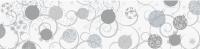 Transparentpapier Weihnachten Rolle 50 x 70 cm - Motiv A Kugeln silber