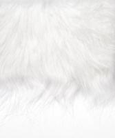 Langhaarplüsch 14x20cm weiß