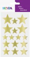 Sticker Sterne gold