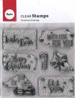 Clear Stamps - Christmas Greetings