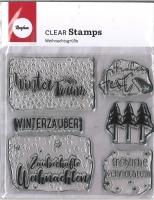 Clear Stamps - Weihnachtsgrüße