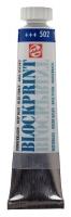 Blockprint Druckfarbe auf Wasserbasis dunkelblau