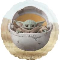 Standard Star Wars Mandalorian The Child Foil Balloon
