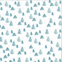 Dini Design Scrappapier Winterzauber - Bäume