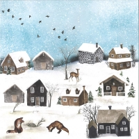 Craft & You Winter Holiday Scrapbooking Paper Motiv 01