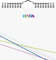 Kreativkalender immerwährend 16x15,6 weiß