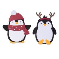 Sizzix Bigz Die - Penguin Friends (B-Ware)