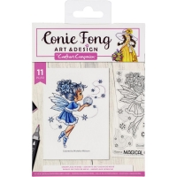Crafters Companion Clear Stamps - Snowflake Wishes