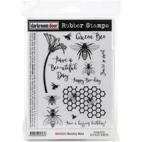 Darkroom Door Cling Stamps 7.3X5.1 - Buzzing Bees
