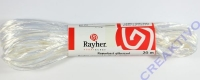 Rayonbast glänzend 20m weiß