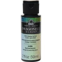 FolkArt DragonFly Glasur Decklack - Blue, Green, Gold Shift