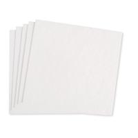 Zellstoffplatten weiß