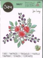 Sizzix Thinlits Die Set 7PK - Floral Layers #2