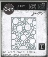 Sizzix Thinlits Die - Bubbling by Tim Holtz