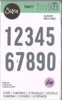 Sizzix Thinlits Die Set 10PK - Bold Numbers