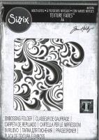 Sizzix Texture Fades Multi-Level Embossing Folder - Swirls by Tim Holtz