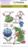 Clear Stamps A6 -Jungle Christmas