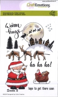 Clear Stamps A6 - Santa 2