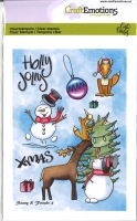 Clear Stamps A6 - Snowy & Friends 2