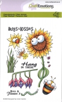 Clear Stamps A6 - Bugs & Flowers 3