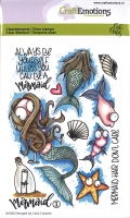 Clear Stamps A6 - Mermaid 1