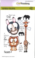 Clear Stamps A6 - Savanne 2