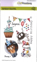 Clear Stamps A6 - Party 1