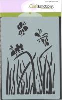 Schablone A6 - Gras