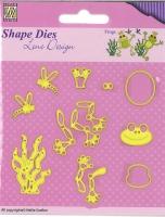 Nellies Choice Shape Die - Frosch