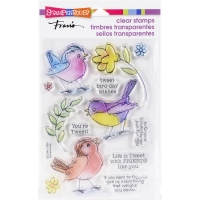 Stampendous Perfectly Clear Stamps - Sketchy Birds