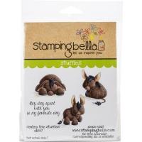 Stamping Bella Cling Stamp 6.5X4.5 - Donkey Trio Stuffies