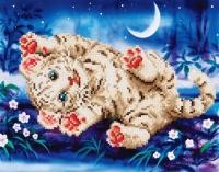 DIAMOND DOTZ Baby Tiger Roly Poly 35,5x27,9 cm