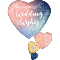 SuperShape Twilight Lace Wedding Foil Balloon
