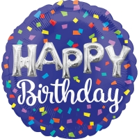 Jumbo Happy Birthday Balloon Letters Foil Balloon