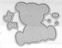 Kleine Stanze Teddybär
