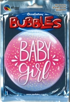 Bubbleballon Baby Girl Confetti Dots