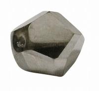 Glasschliffperle: Fancy Cut 12mm anthrazit (Restbestand)