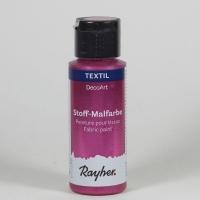 DecoArt Stoffmalfarbe 59ml rosa metallic