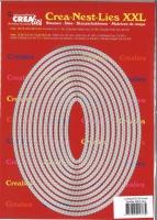 Crealies Double Stitch Oval