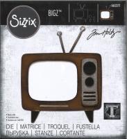 Sizzix Bigz Stanze - Retro TV by Tim Holtz