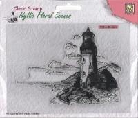 Nellies Choice clearstamp - Idyllisch Floral - Leuchtturm