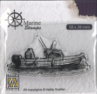 Nellies Choice clearstamp - Maritim - Boot