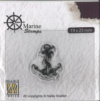Nellies Choice clearstamp - Maritim - Anker