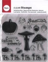 Clear Stamps - Herbstleuchten